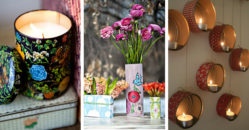 16 Amazing Ways To Use Your Old Tin Cans-3