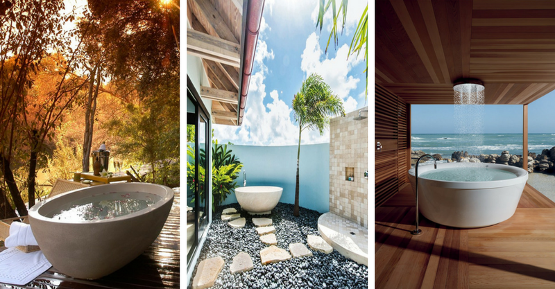 17 Captivating Outdoor Bathrooms That You Would Like-3