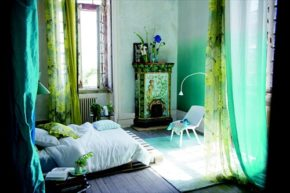 attractive and beautiful bedroom of pallets
