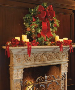 Charming mantel decoration