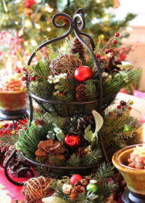 awesome Christmas centerpiece in your living room