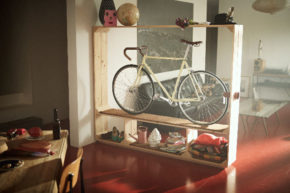 shoesbooksandabike storage