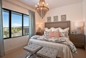 taupe pink bedroom decoration