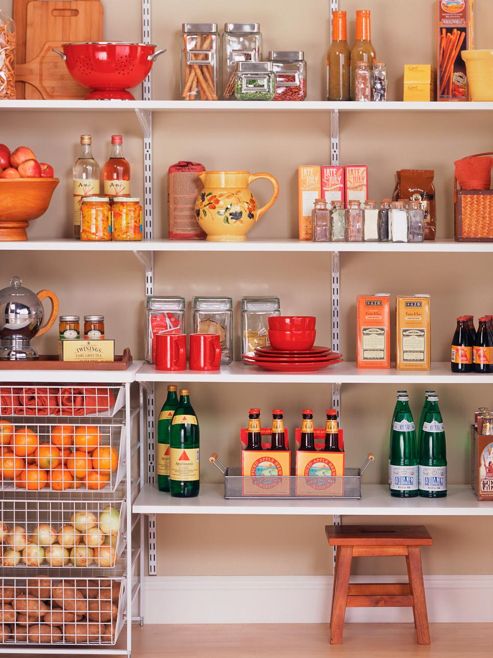 18 easy and creative pantry organization ideas - home decor image Money Storage Ideas