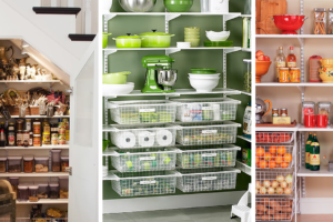 pantry storage ideas