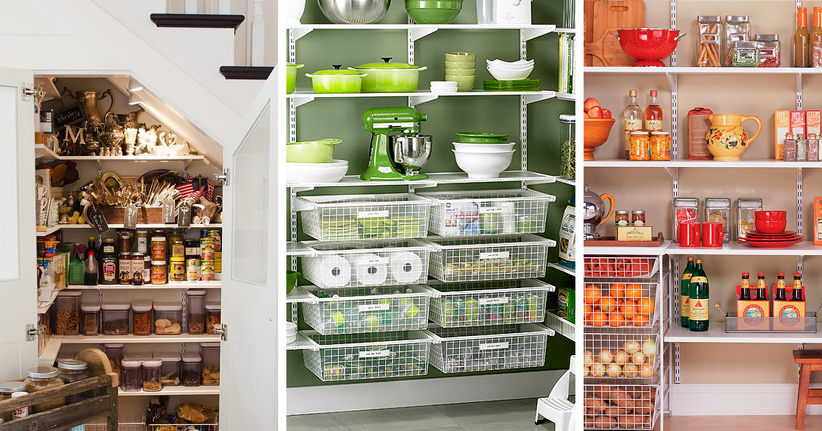 18 Easy And Creative Pantry Organization Ideas Home