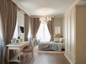 taupe dusty blue bedroom color decoration