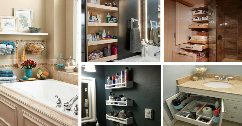14 Storage Ideas For More Space In The Bathroom That Everyone Should See!