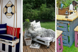 15 Affordable DIY Magnificent Furniture Using Pallets-3