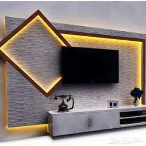 Beauty and Functionality TV wall Unit Designs