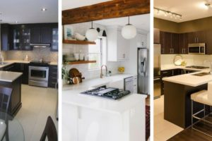The Kitchen in a small Dwelling-F