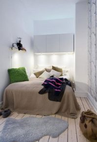A bedroom where you could concentrate