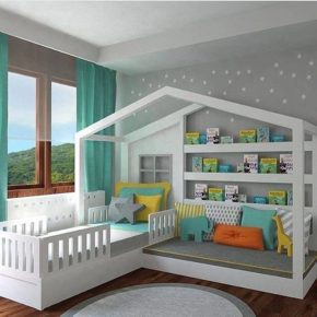 Kid's bedroom - Just like in fairy tales