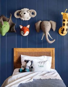 The children's room wall decoration