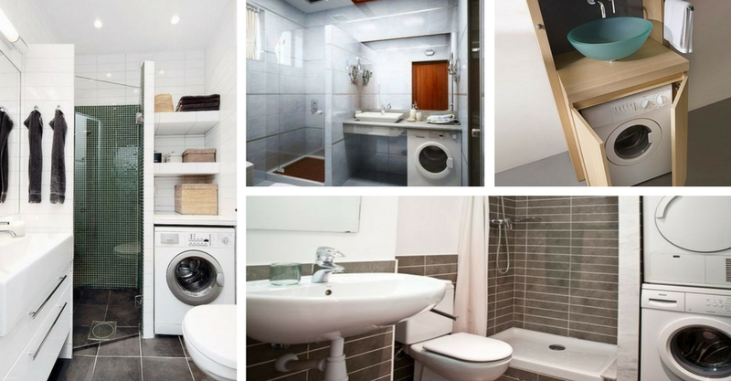 How to Fit the Washing Machine Into the Bathroom (9 Tips)