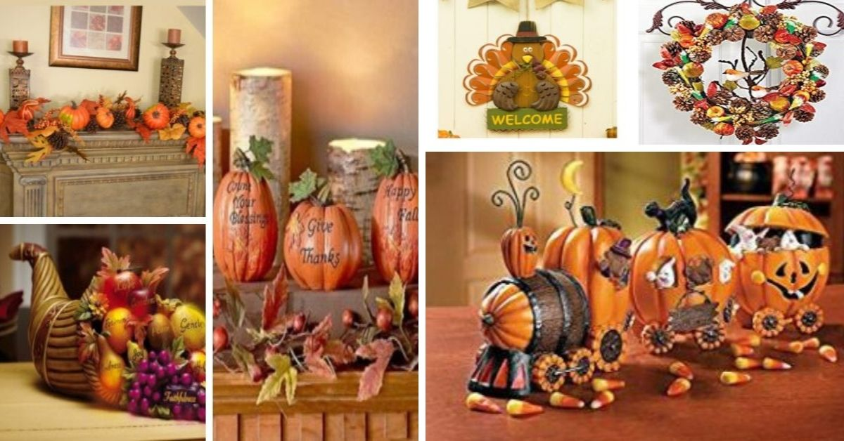 Thanksgiving Day Home Décor
