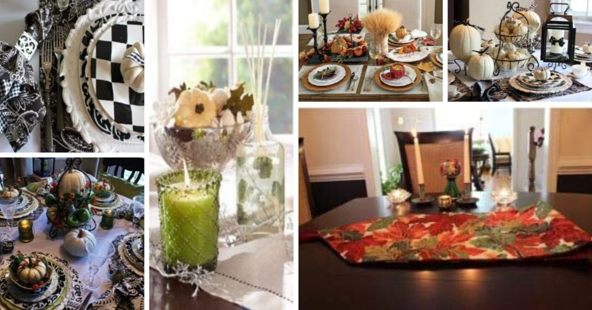 Thanksgiving Day Table Decor