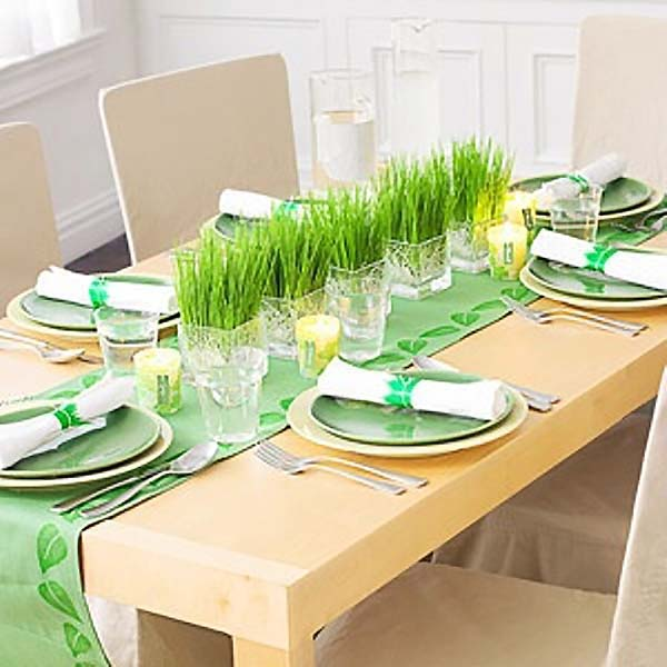 Stylish Easter Spring Table Decoration