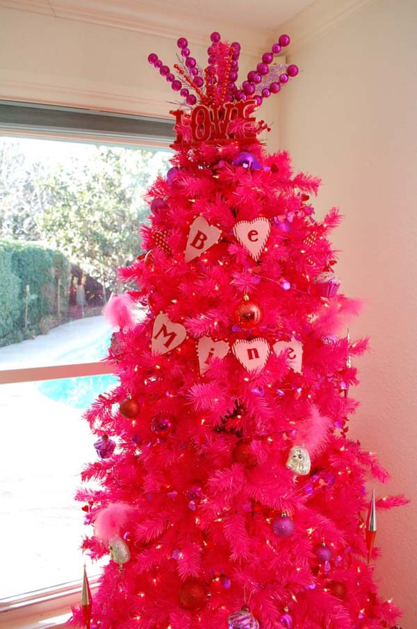 Valentines Day Tree Ornament Ideas