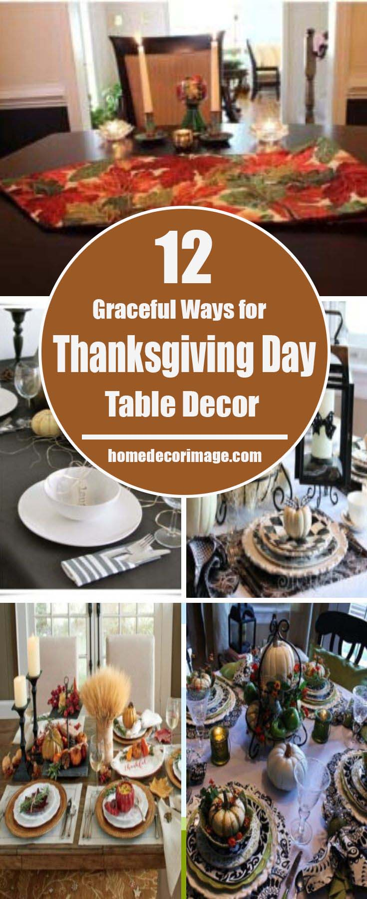 Celebrate the Thanksgiving Day by creating a fairy decoration on the table that would elicit applauses. En route to exquisite and graceful ideas! #Thanksgiving Day #table #decor #homedecorimage