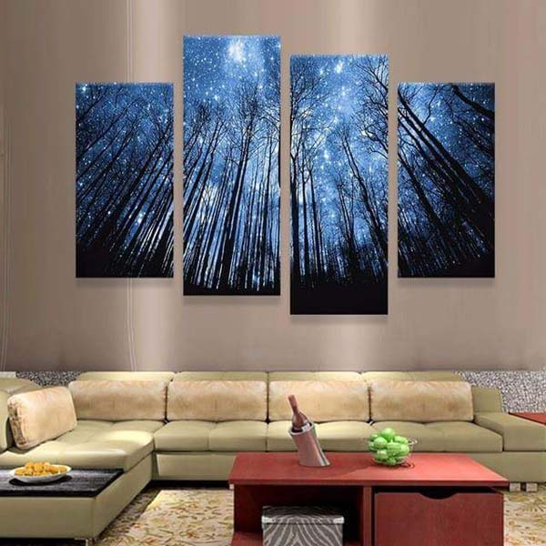 Illuminating Cardboard Paintings #home #decor #homedecorimage