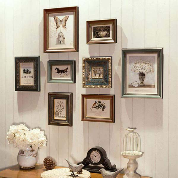 Photo Frames Decorating #home #decor #homedecorimage