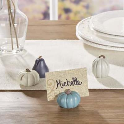 Individual Thanksgiving Table Decor #Thanksgiving Day #table #decor #homedecorimage