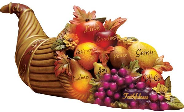 The Horn of Plenty #Thanksgiving Day #decoration #homedecorimage