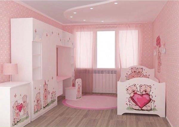 A Room in Pink #teen rooms #decoration #homedecorimage