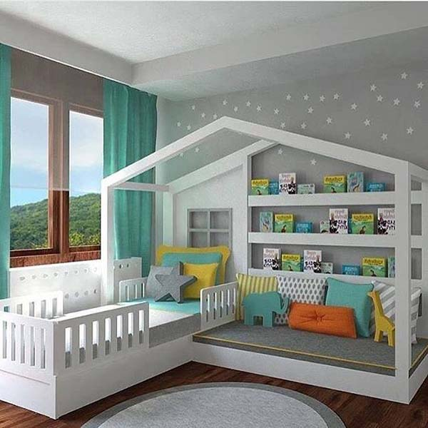 Kids Room Like a Fairy Tale #kid's room #interior #homedecorimage
