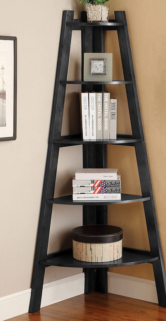 Truncated Pyramid-Like #corner wall shelves #bedroom #homedecorimage