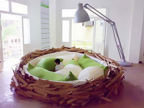 a nest bed