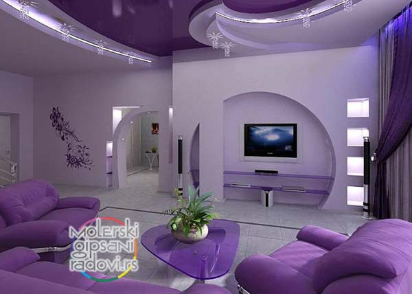 modern and contemporary in lavender