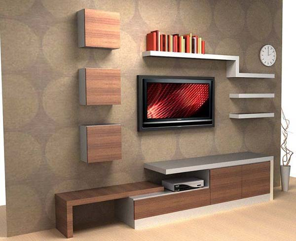 simple tv wall unit designs for living room