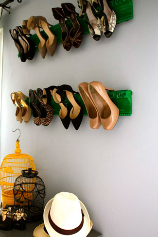 storage for high heels