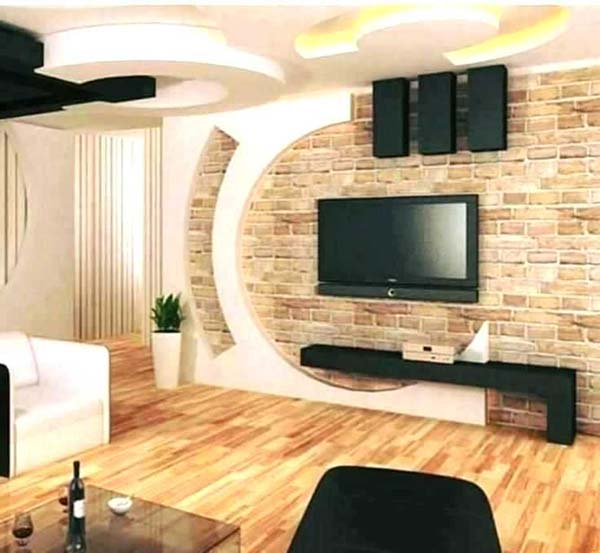 wall ceiling design lcd