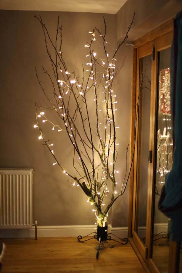 Tree Of Light Illuminated Lamp #decor #home #branches #homedecorimage