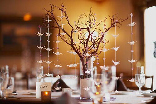 DIY Decorate With Branches Table Setting #decor #home #branches #homedecorimage