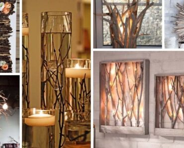 Decorating Ideas with Branches