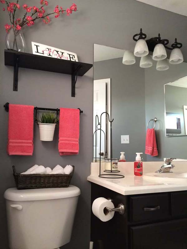 Over The Toilet Bathroom Storage System #storage #toilet #bathroom #homedecorimage