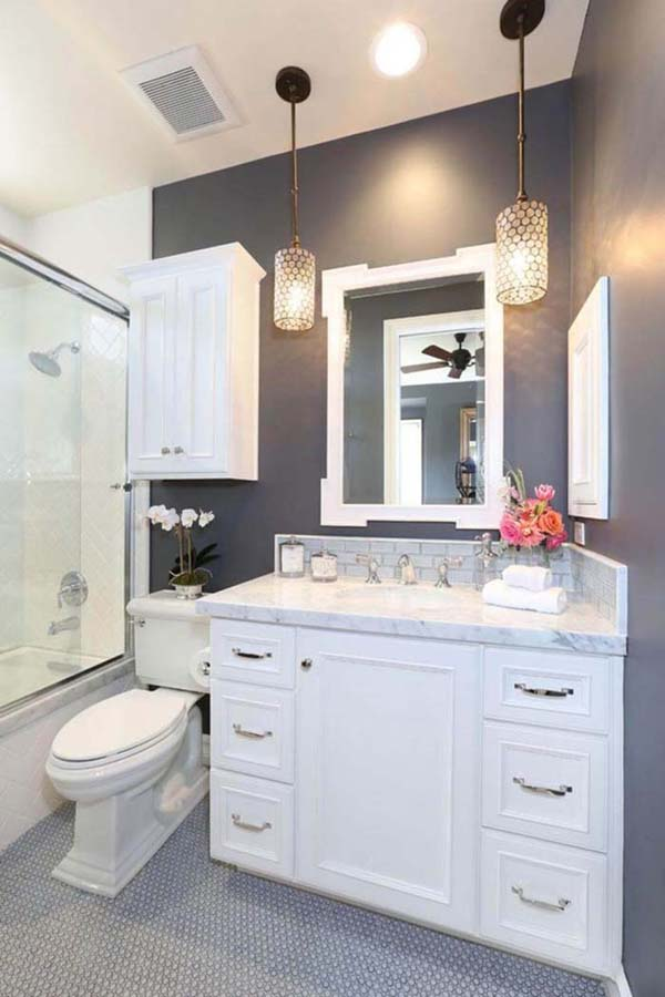 Over The Toilet Storage Cabinet #storage #toilet #bathroom #homedecorimage