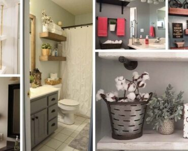 storage ideas for the bathroom