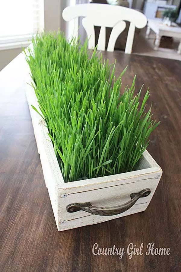 Add Fresh Greenery to the Table #spring #decor #homedecorimage