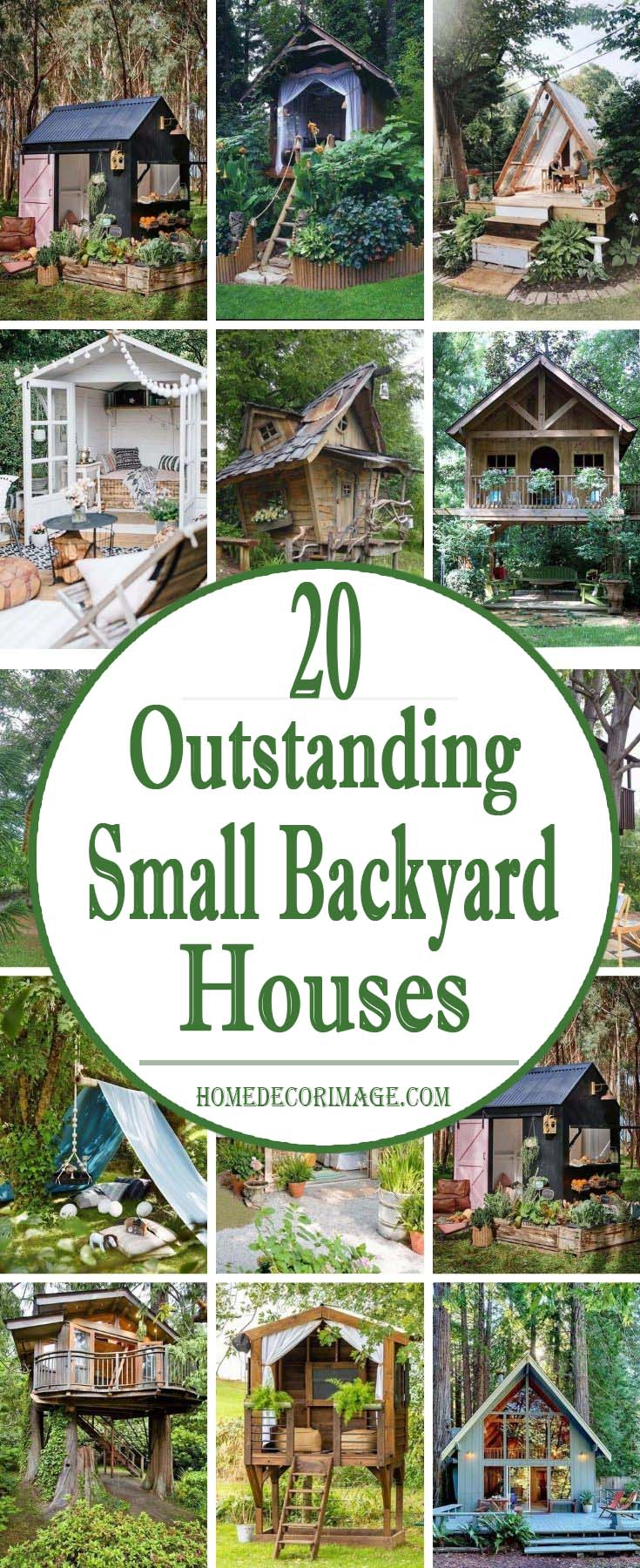 20 Outstanding Small Backyard Houses To Freshen Up The Space